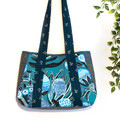 Teal Banksia Handbag