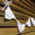 Vintage Hanky Bunting - Wedding Party Engagement   Boho * FREE POSTAGE*