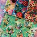 Floral Kitchen Cloths 4 pack