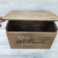 Wedding card box personalized