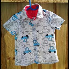Boys Car Shirt - custom orders