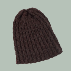 Brown Wool Cap in Small Adult Size Ready To Post