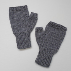 Silver Gray Mitts in Adult Size Ready To Post