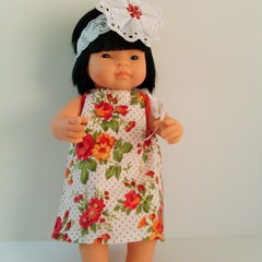 Dolls clothes for Miniland doll 38cm complete with undies