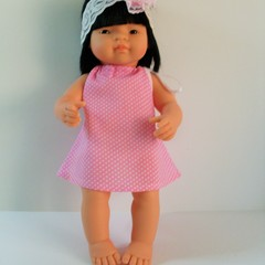 Dolls clothes set for Miniland doll 38cm includes pair of undies