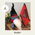 Nisse / Gnome - 'Bomber' - 28cm - FREE SHIPPING