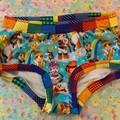 Rainbow Brite scrundies size medium ladies