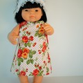 Dolls clothes with undies for Miniland doll 38cm  or similar