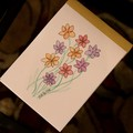 Watercolour Ruled Notepad - 9 Pastel flowers