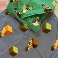 Minecraft sandwich wraps 2 pack