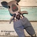Large BOY Kangaroo  - RED or EASTERN GREY