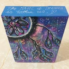 Dreamcatcher Mini Canvas block