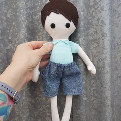 Handmade boy doll