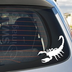 SCORPION car window decal sticker