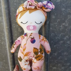 Autumn - handmade cloth baby doll
