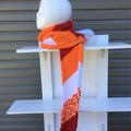 Knitted Diagonal Scarf