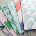 6 Handmade Envelopes - Set 3
