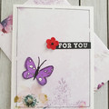 For You Handmade Card