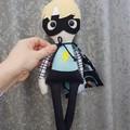 Super boy - handmade cloth doll