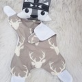 River wolf comforter blanket toy