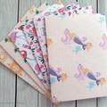 6 Handmade Envelopes - Set 1