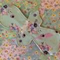 Floral regular cloth pad (cloth pads category)