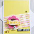 Happy Birthday Wish Handmade Card
