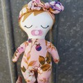 Autumn - handmade cloth baby doll