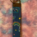 Rainbow key fob