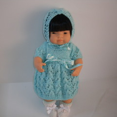 Miniland dolls clothes knitted outfit