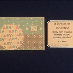 Newborn Handmade Greeting Card