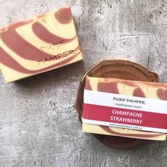 Artisan Soap - Champagne & Strawberry