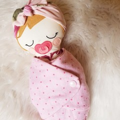 Willow - handmade cloth baby doll