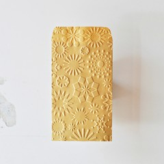 Kraft Seed Sachets {10} Embossed Snowflakes | Christmas Envelopes
