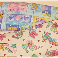 Heat pack, colourful cotton fabrics
