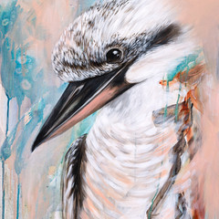 Cookie The Kookaburra Print