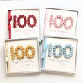 100th Plus Personalised Birthday Card, Handmade, 101st 102nd 103rd 104th 105th