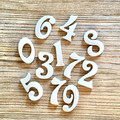 White Ceramic Home Numbers - Ceramic House Numbers