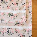 2x Matching Cotton Pillow Cases - Pink Blossoms