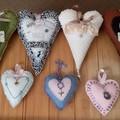 Lavender Hearts