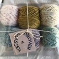 GIFT PACK 150g/500m (6x25g) 5ply hand dyed superfine merino yarn