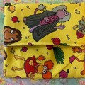 Fraggle Rock cloth pads wrapper