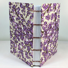 Handmade Journal or Sketchbook using Coptic Stitch, Lays Flat