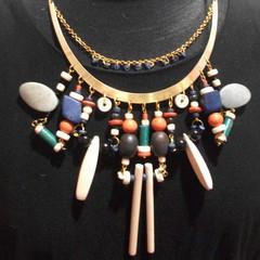 Jacqueline - beaded neck accessory