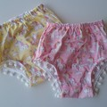 Set of 2 size 0 nappy covers
