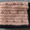 Baby blanket- hand crocheted