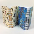 Twin Pack of Pocket Journals,  Pocket Sketchbooks, Pocket Notebook, Lays Flat