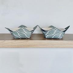 Bowl cozy's (blue/green)