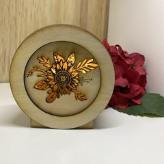 Sunflower 3 Mini Lamp / Lightbox