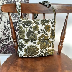 Floral handbag, crossbody bag
